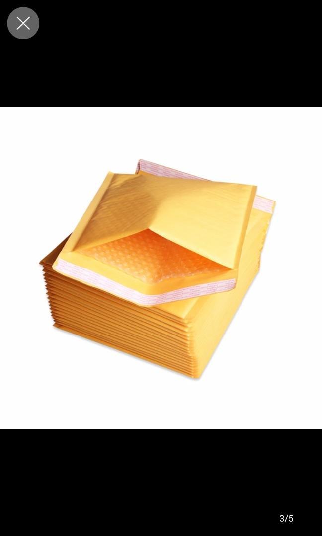 Bubble wrap envelopes (pack of 10)