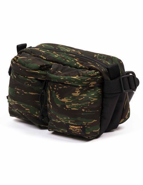 55672572ff 🇺🇸Carhartt WIP Work in Progress Military Hip Bag Porch Camouflage ...