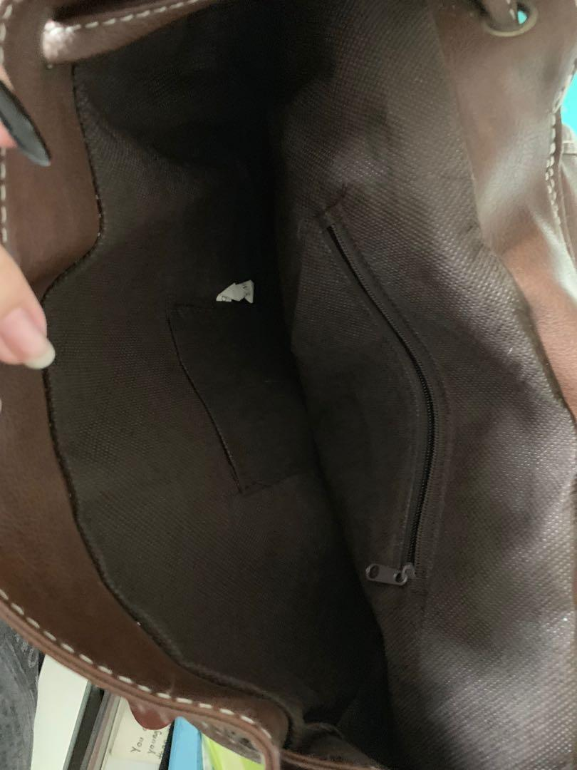 Casual backpack (hobo styled)