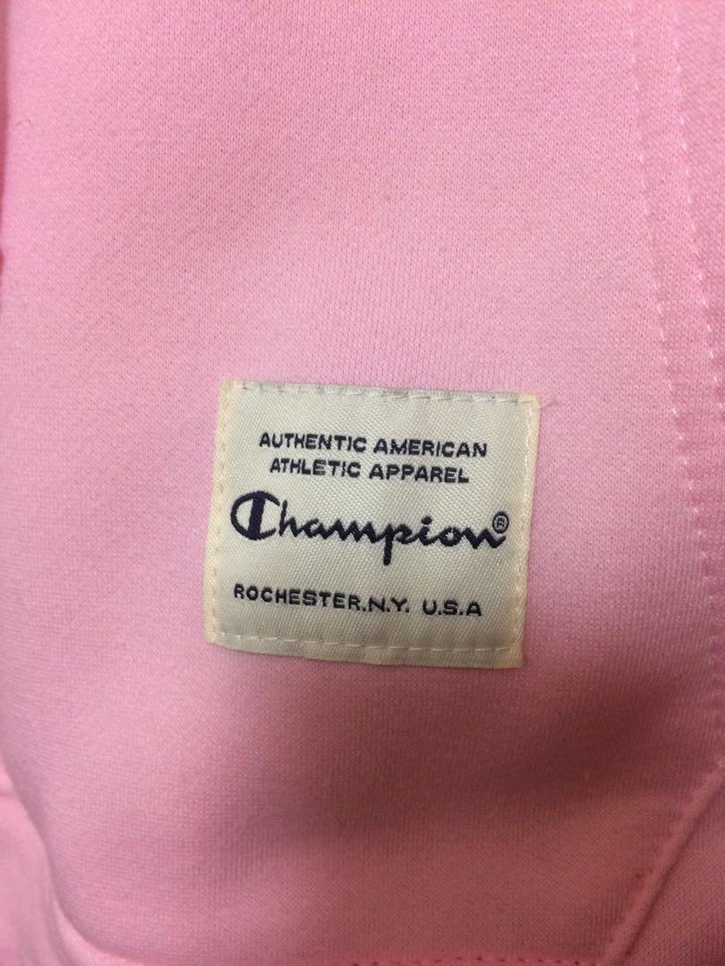 Champion hoodie pink