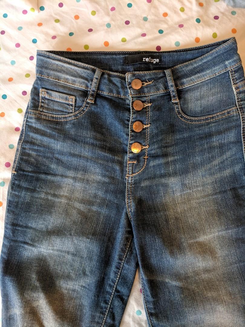 Charlotte Russe Refuge High Waist Super Skinny jeans