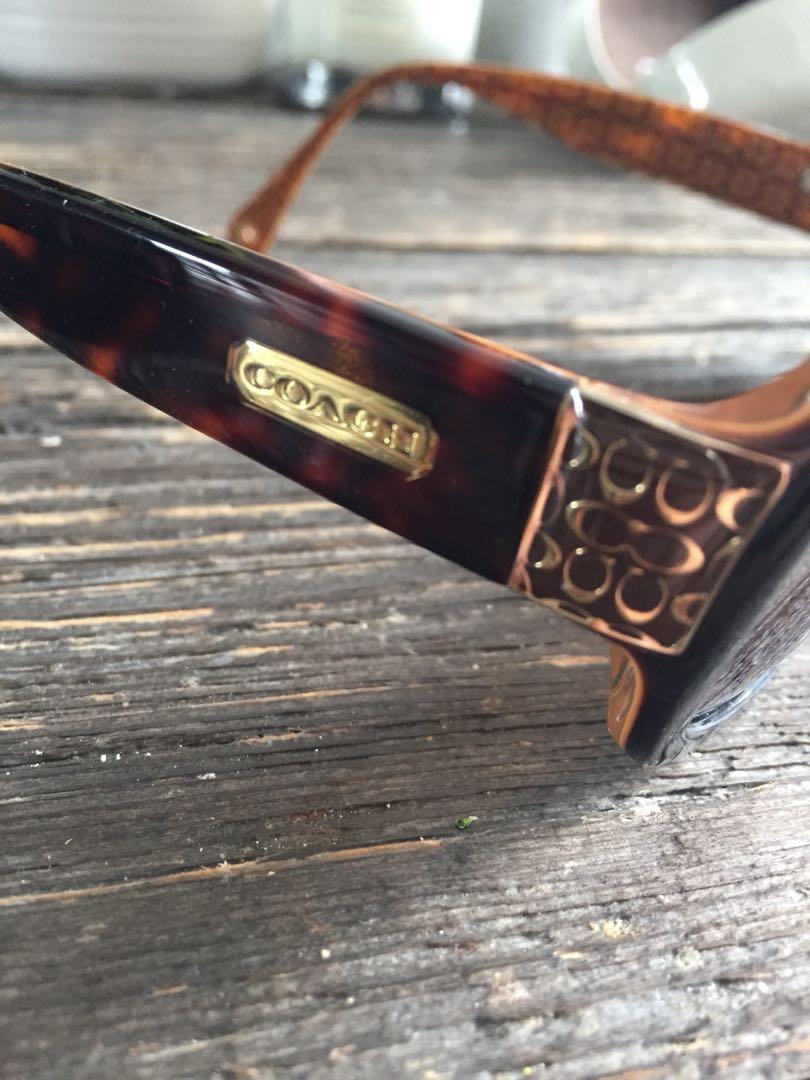Coach 'Amelia' sunglasses - tortoise - polarized lenses