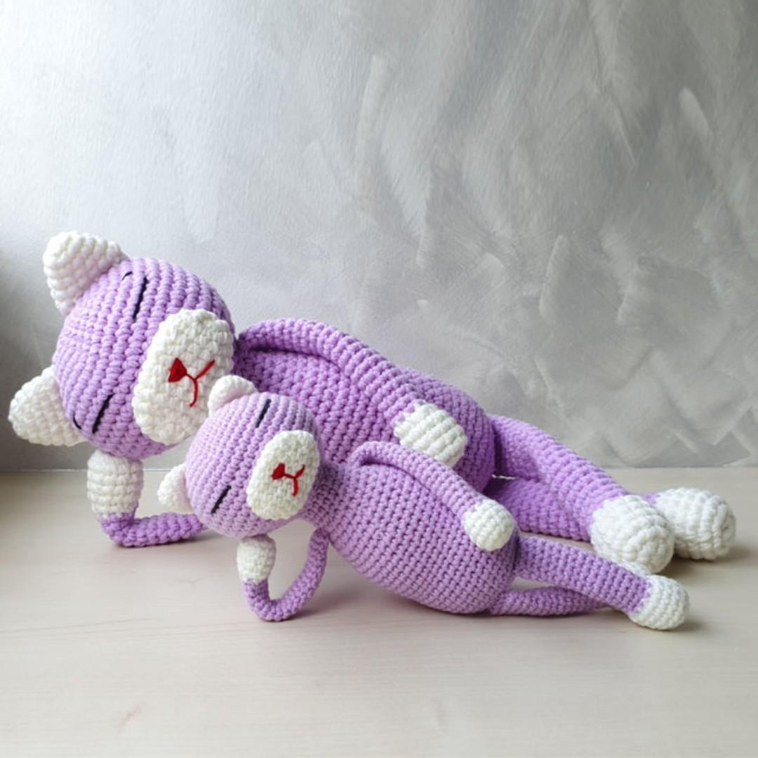 Free Amineko Crochet Cat Pattern – Knitting Projects | 1080x1080