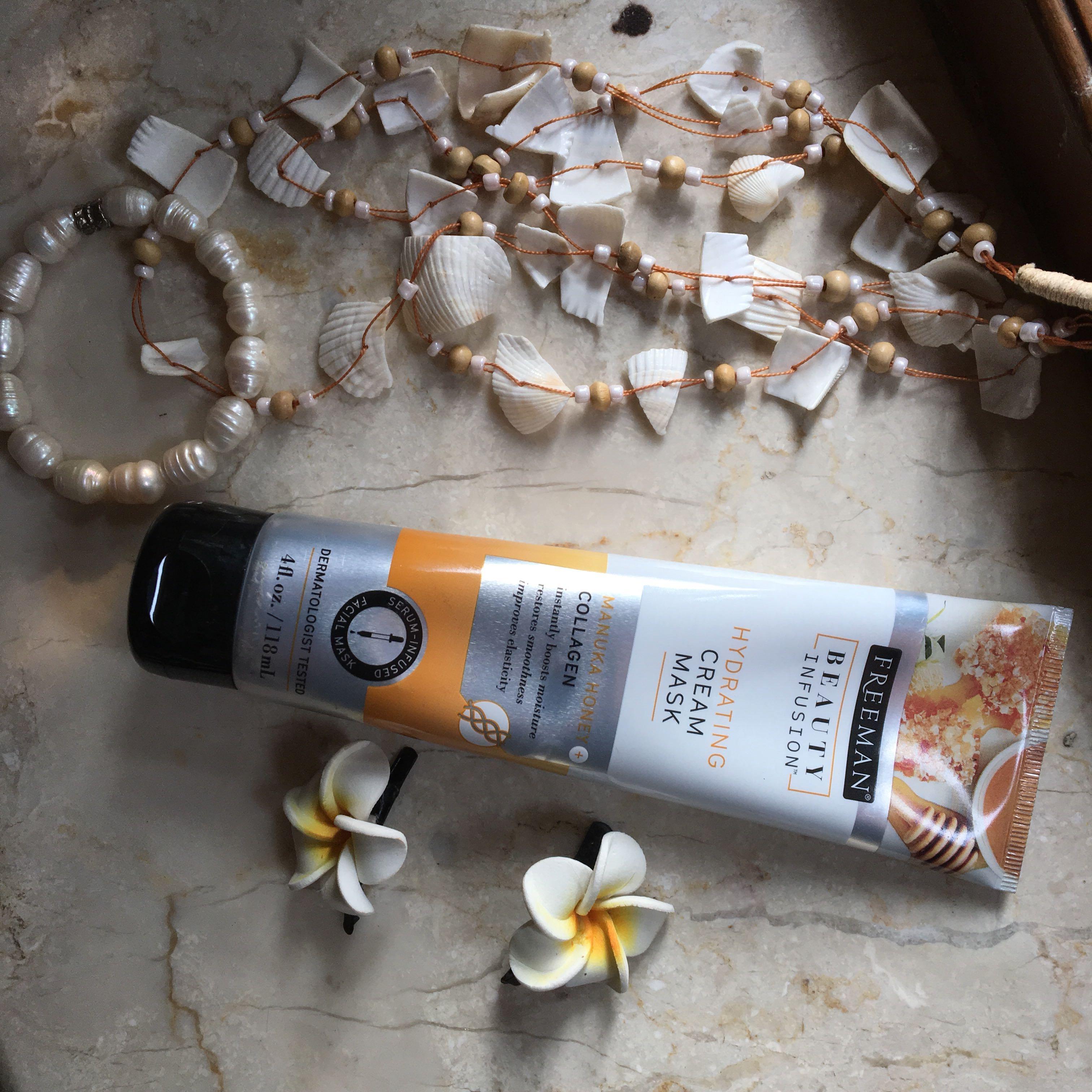 "Freeman Beauty Infusion Hydrating Cream Mask ""Manuka Honey + Collagen"""