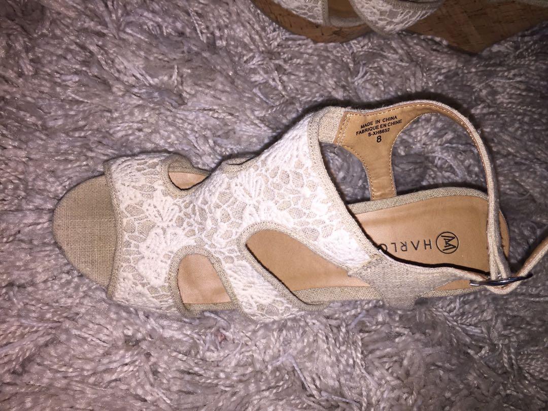 Harlow Heels - Size 8