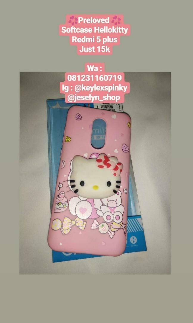 Hello Kitty Case redmi 5 plus