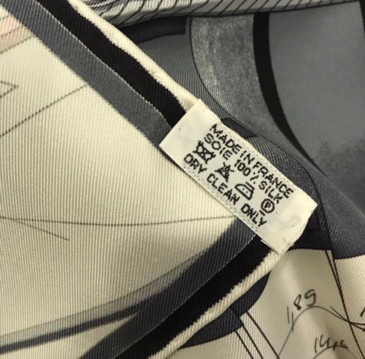 Hermes 90cm silk scarf - Petit Duc