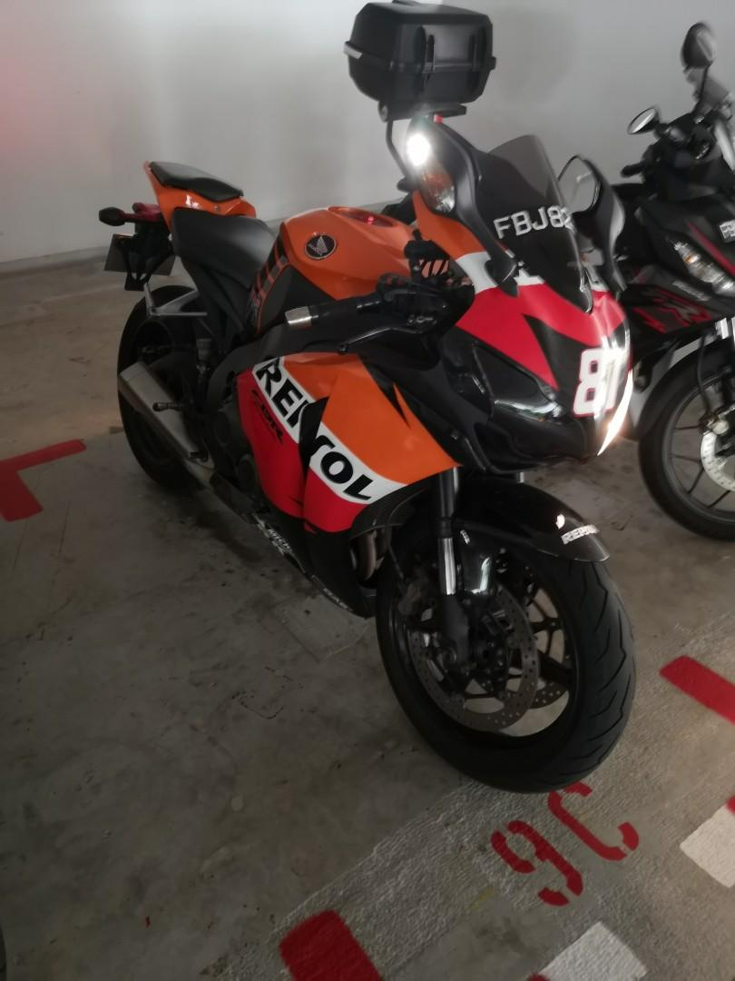 Honda CBR1000RR 08 Model Coe end 2027