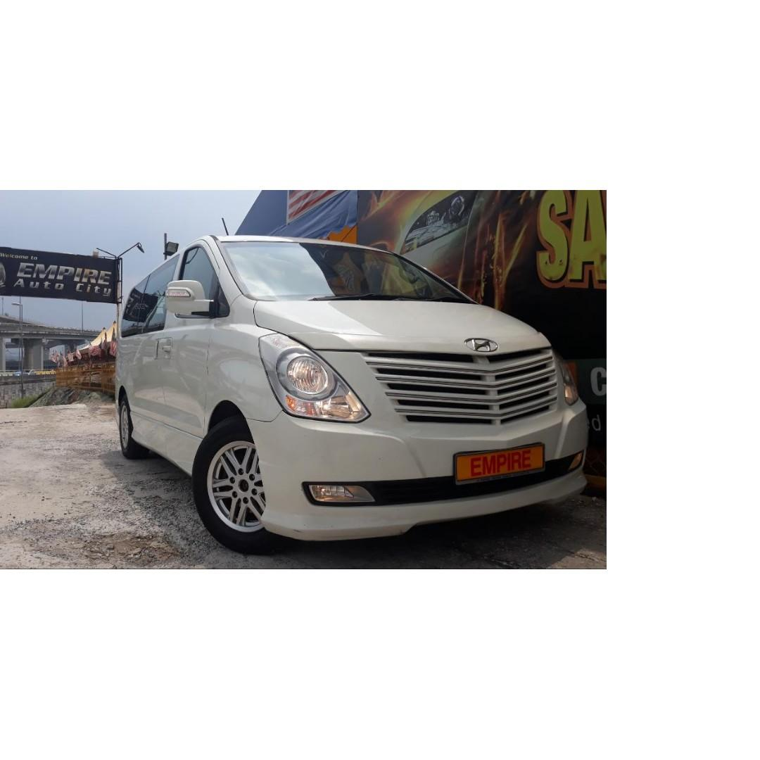 HYUNDAI GRAND STAREX ROYALE 2.5 ( A ) CRDI DIESEL TURBO !! 12 SEATERS !! PREMIUM HIGH SPECS !! ( VXX 6832 ) 1 CAREFUL OWNER !!