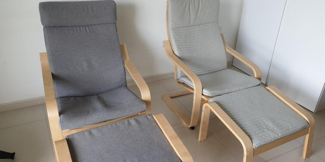 Pleasing Ikea Poang Armchair Stool Furniture Tables Chairs On Ibusinesslaw Wood Chair Design Ideas Ibusinesslaworg