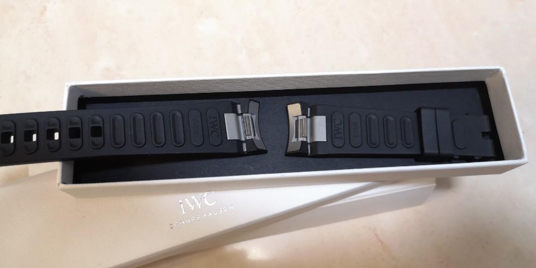[全新]原裝IWC Aquatimer膠錶帶