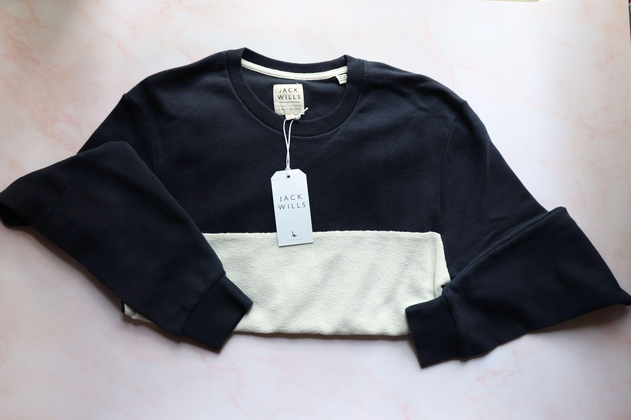 🇬🇧[全新]Jack Wills - Sweatshirt 男裝長袖