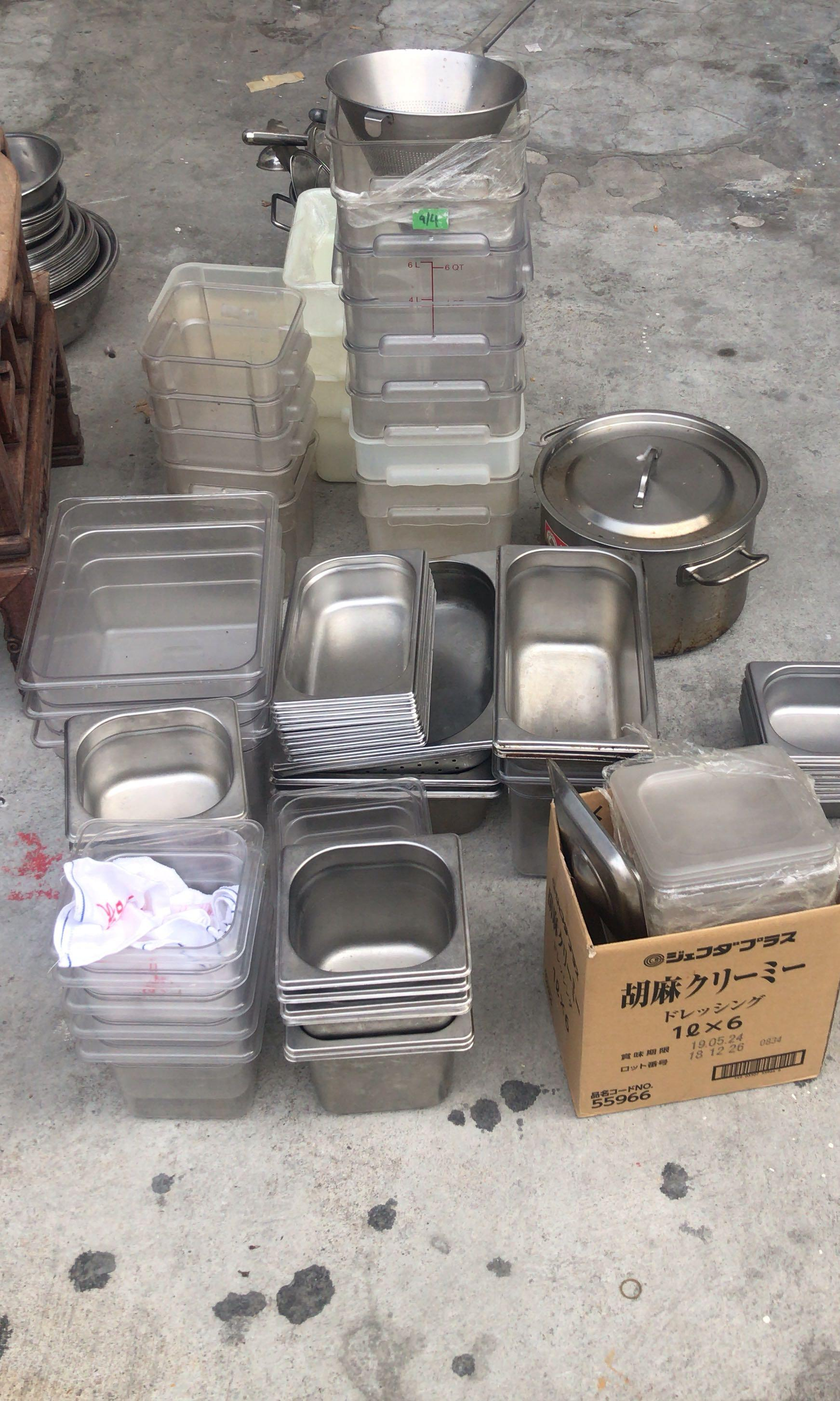 Kitchen tool equipment container ladle