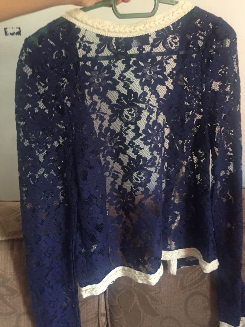 Lace cardigan