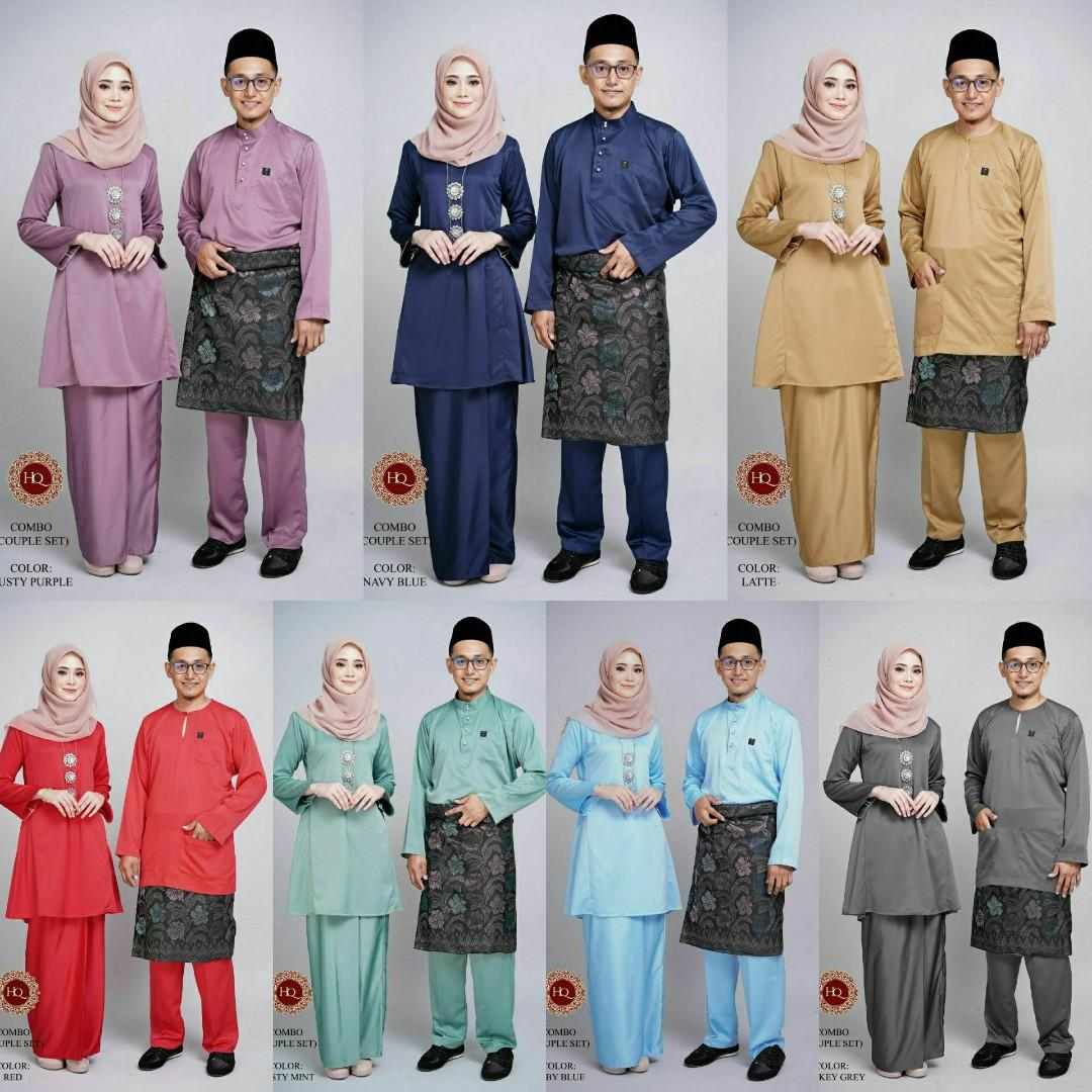 Lateefa Kurung Baju Melayu Al Maliq Women S Fashion Muslimah Fashion On Carousell