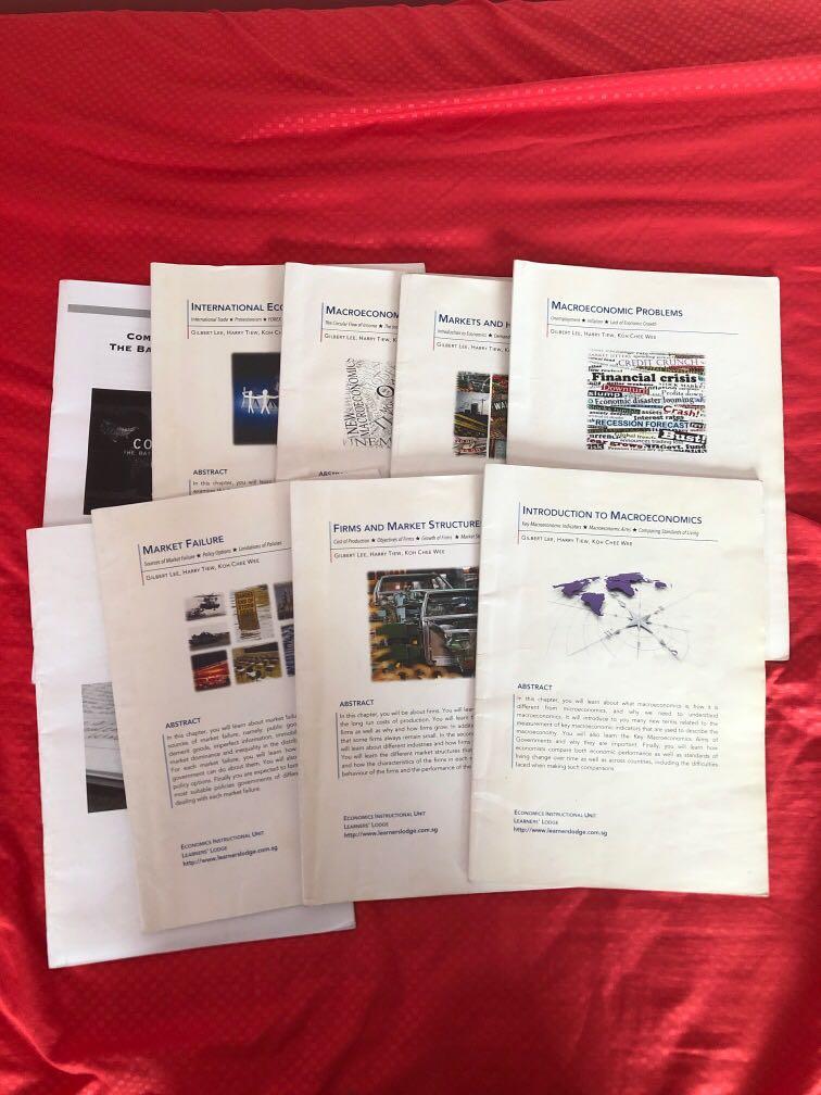 Learners' lodge economics textbooks (full)