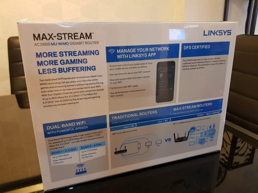Linksys AC2600 Router