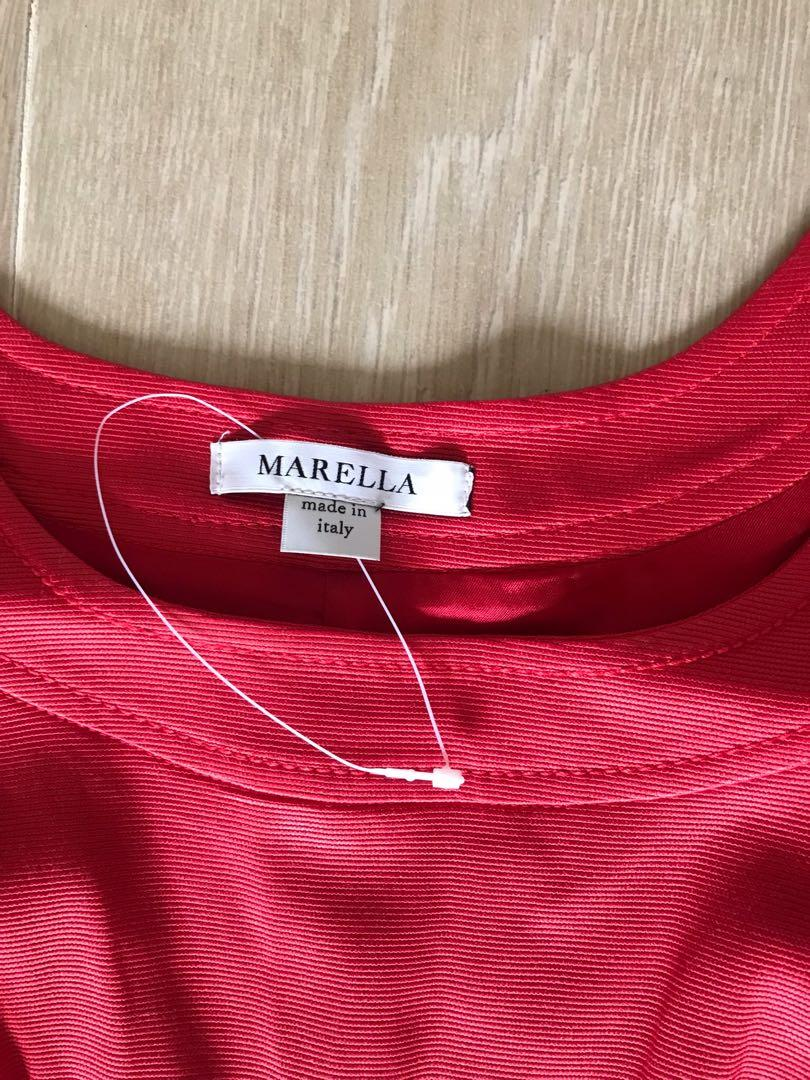 Marella red dress (new)