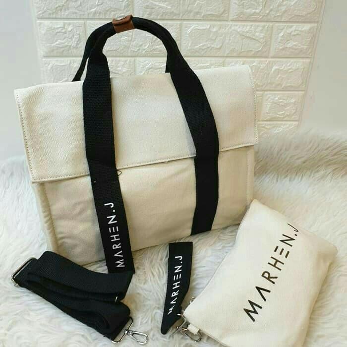 Marhen j roy sling shoulder bag tas tenteng dan sandang selempang 3 warnq