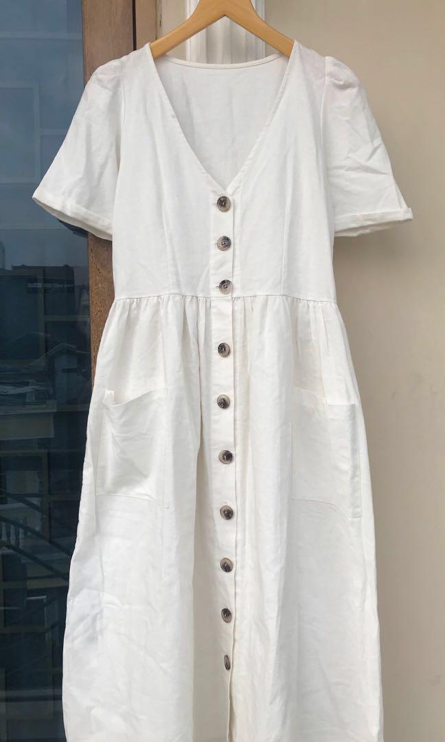 Maxi dress cufn basic