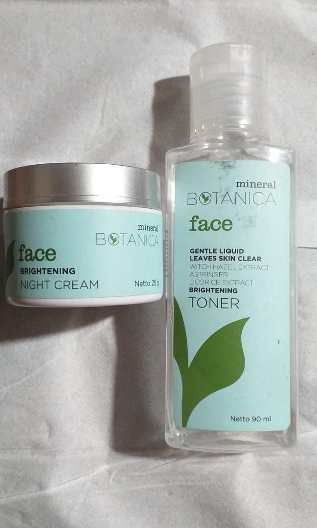 Mineral Botanica Toner & Night Cream [Bundle]