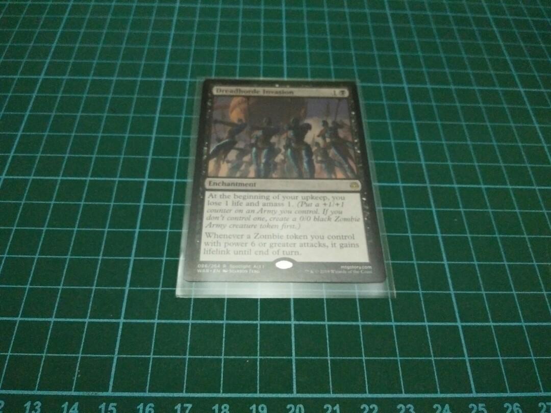 DELIVER UNTO EVIL X4 War Of The Spark WAR Magic MTG MINT CARD