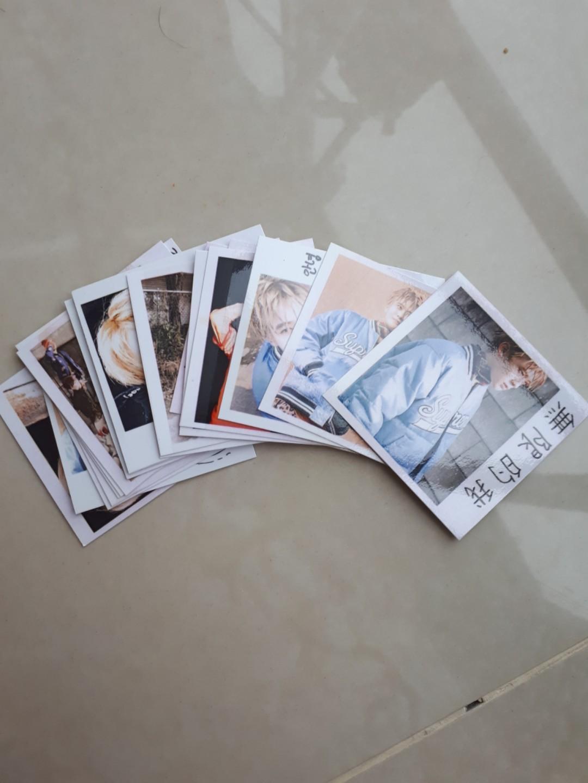 NCT Jaehyun Polaroid 1 set 21 pcs BISA NEGO