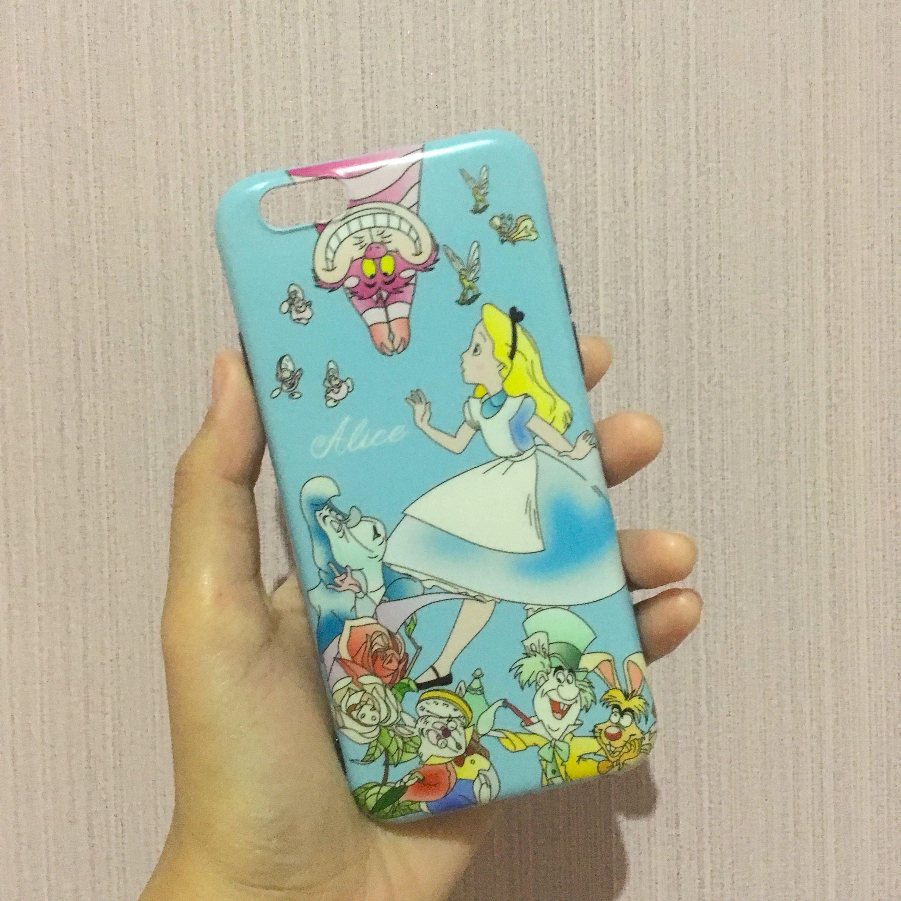 New Alice in the wonderland case iphone 6 6s
