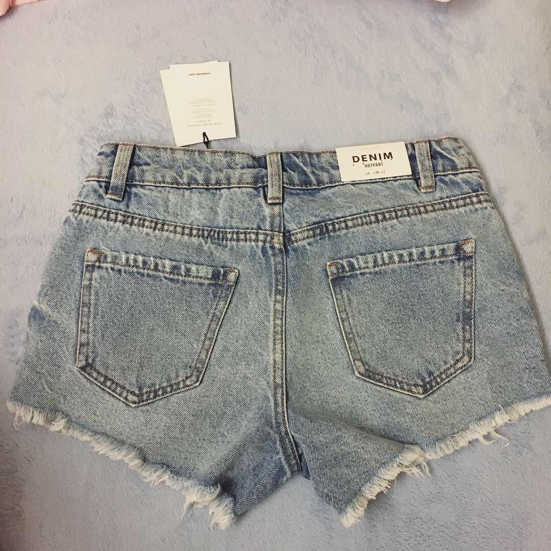 New look牛仔短褲