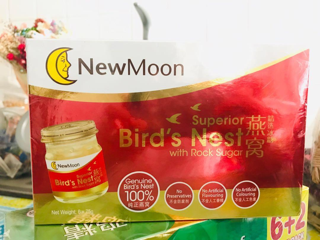 New Moon - Superior Bird's Nest with Rock Sugar