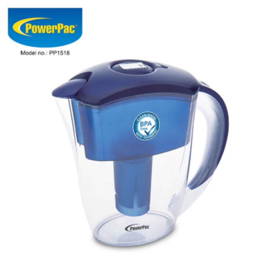 [NEW] PowerPac Water Filter Pitcher BPA Free (PP1518)