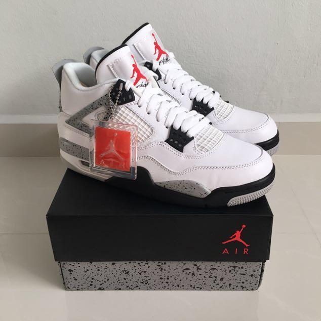 711386511a18 Nike Air Jordan 4  White Cement  2016
