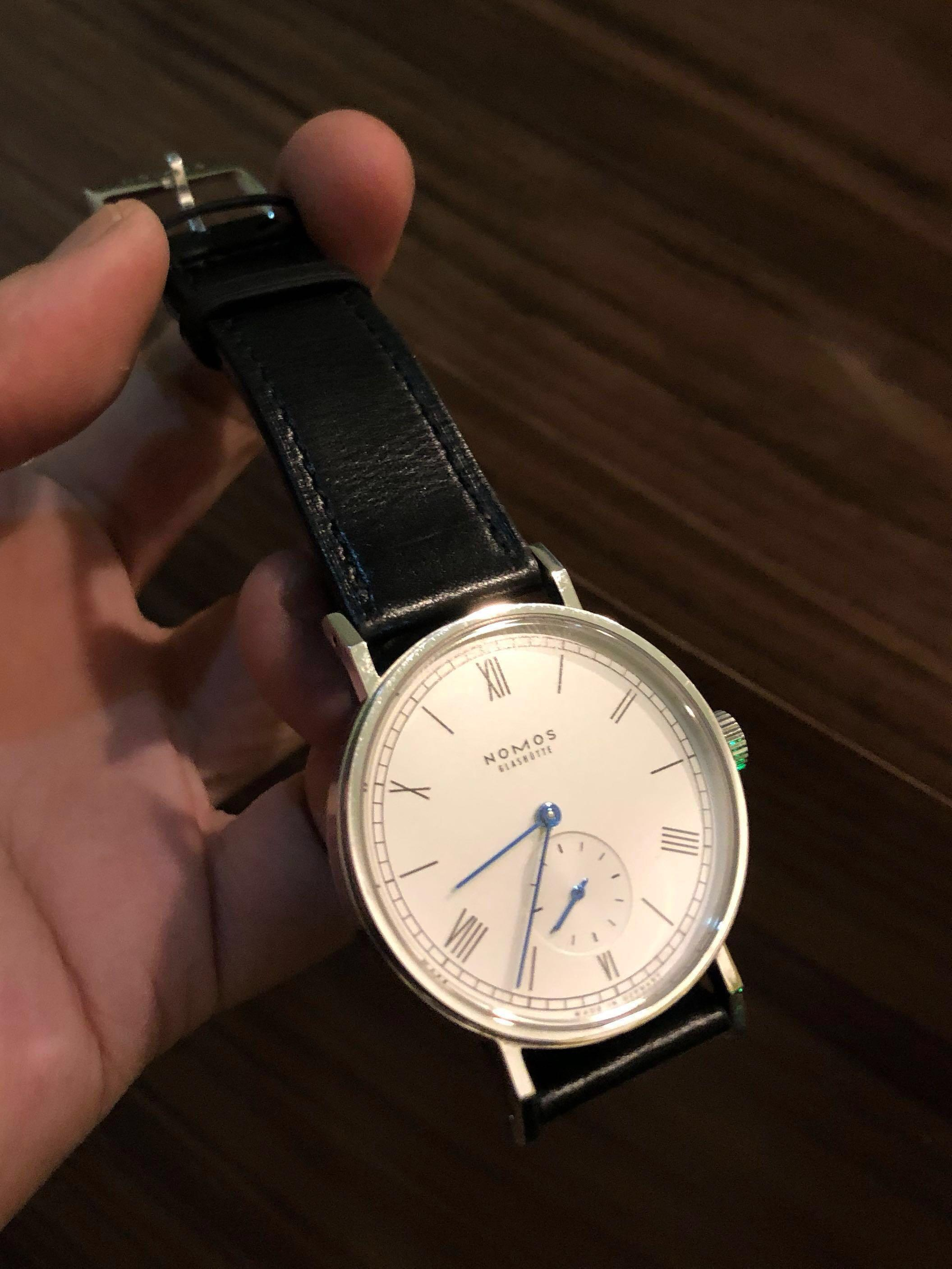 Nomos glashutte Germany handmade watch not oris ball fossil seiko tissot casio