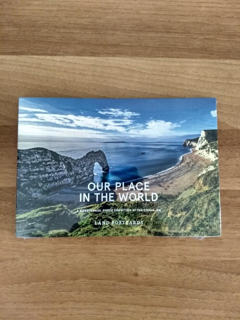 """""""Our Place In The World"""" Land Postcards"""