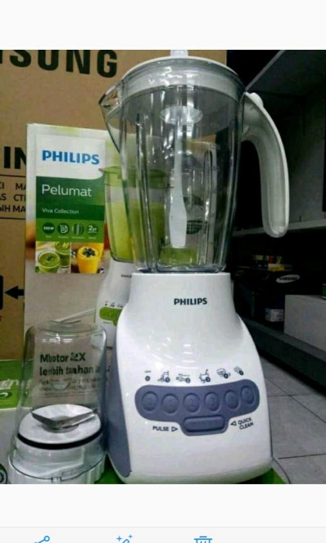 Philips blender kaca new