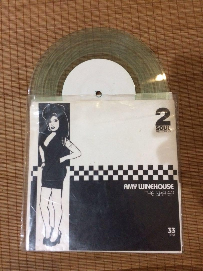 """Piringan Hitam 7"""" Amy Winehouse - The Ska EP"""