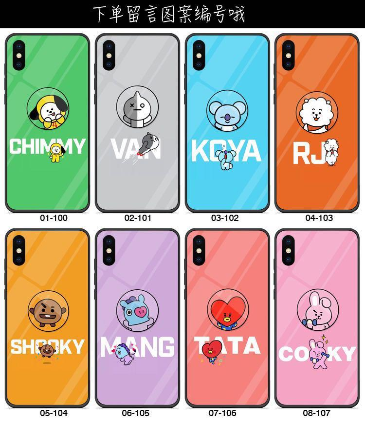 [PO] BTS BT21 PHONE CASE + POPUP PHONE STAND / HOLDER