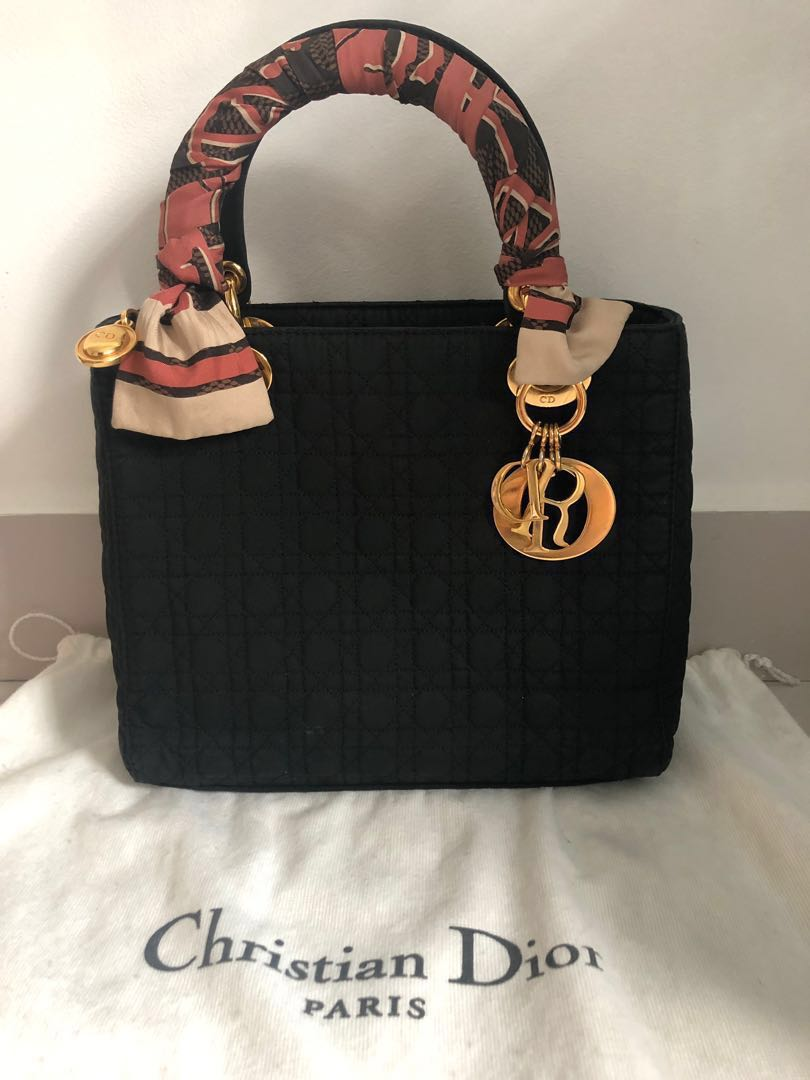 e6ea9238b4 Preloved Lady Dior Bag, Luxury, Bags & Wallets, Handbags on Carousell