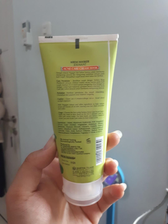 sariayu acne cream mask