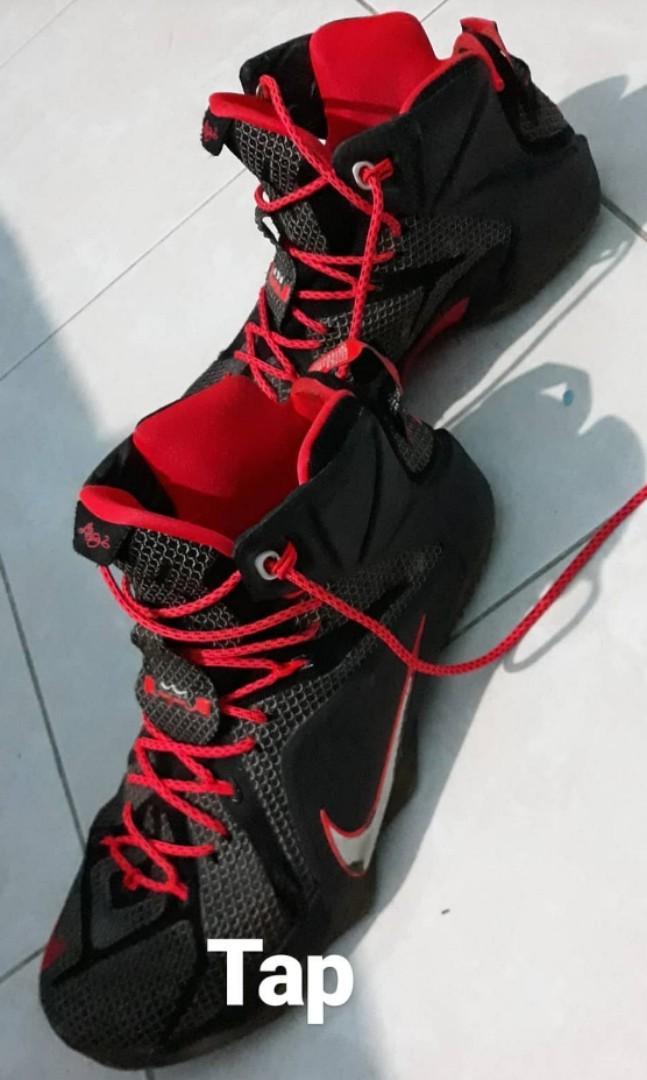 Sepatu basket nike lebron 12