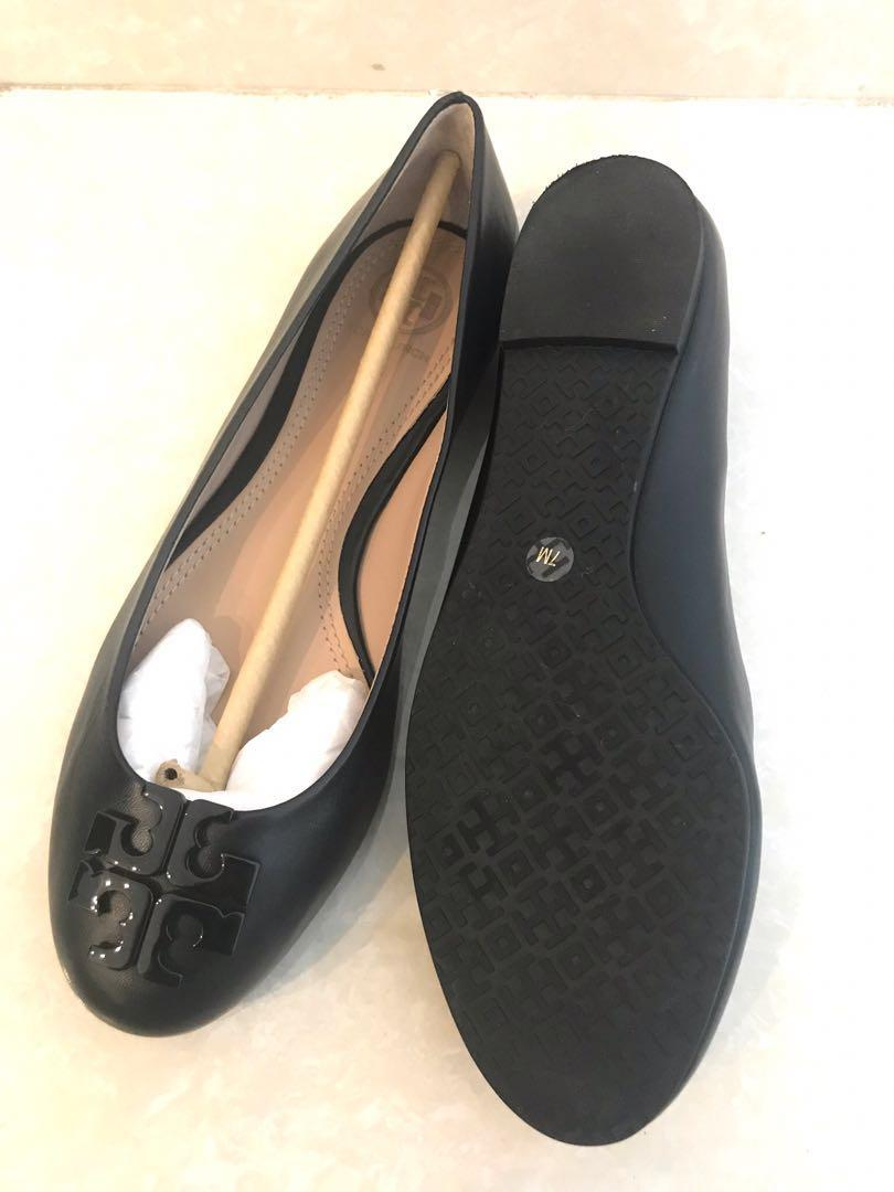 Sepatu Tory Burch Lowel sz 7 black NEW