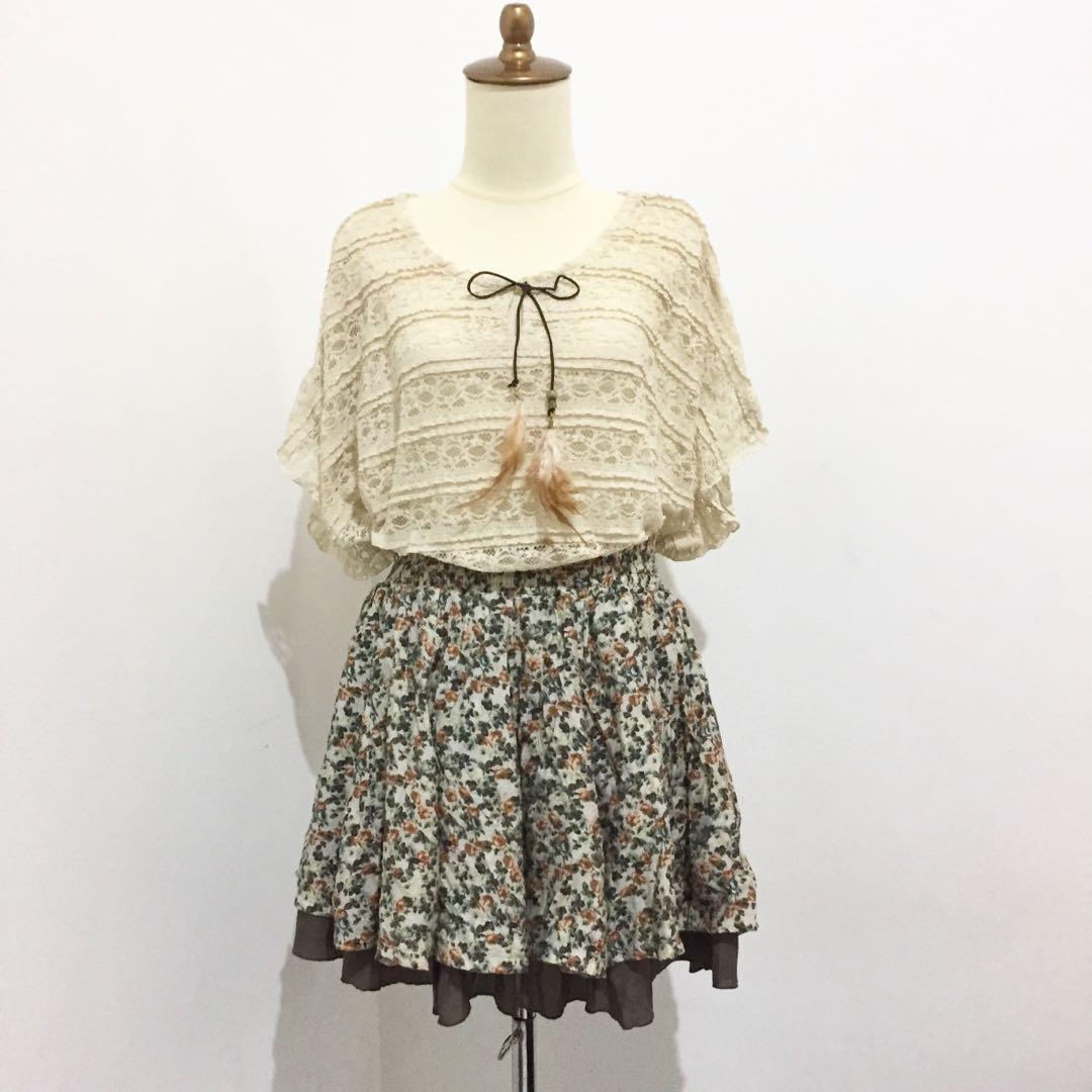 Setelan vintage korea