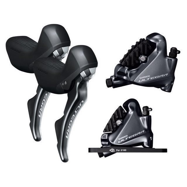 ce597f6a598 Shimano Ultegra R8020 11 Speed Shifter with R8070 Hydraulic Flat ...