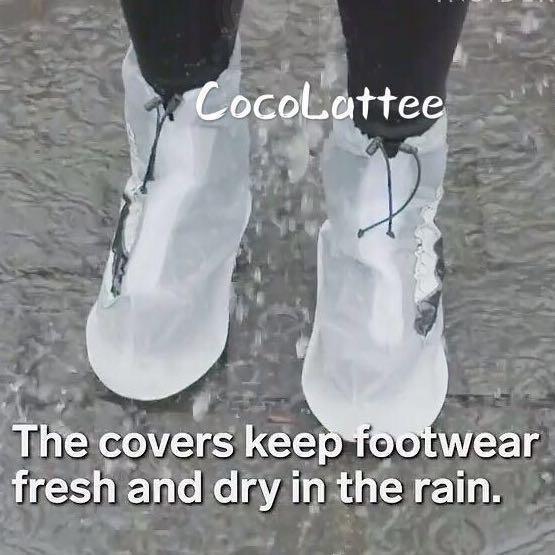 Shoes rain covers men and women size (42-43 / 37-39) raincoat rain raincover