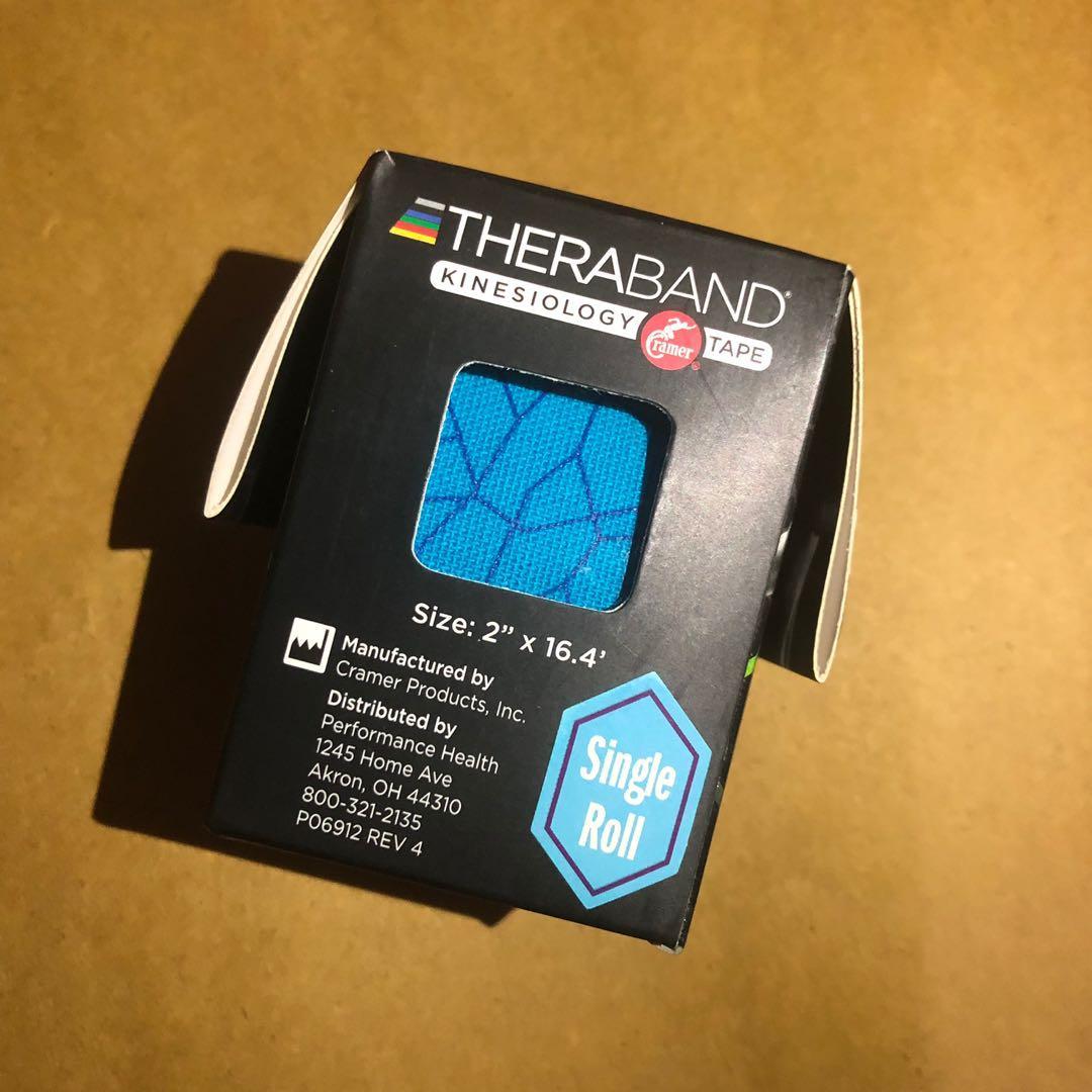 TheraBand Kinesiology Tape Sport Tape (BLUE) 物理治療 運動肌肉貼