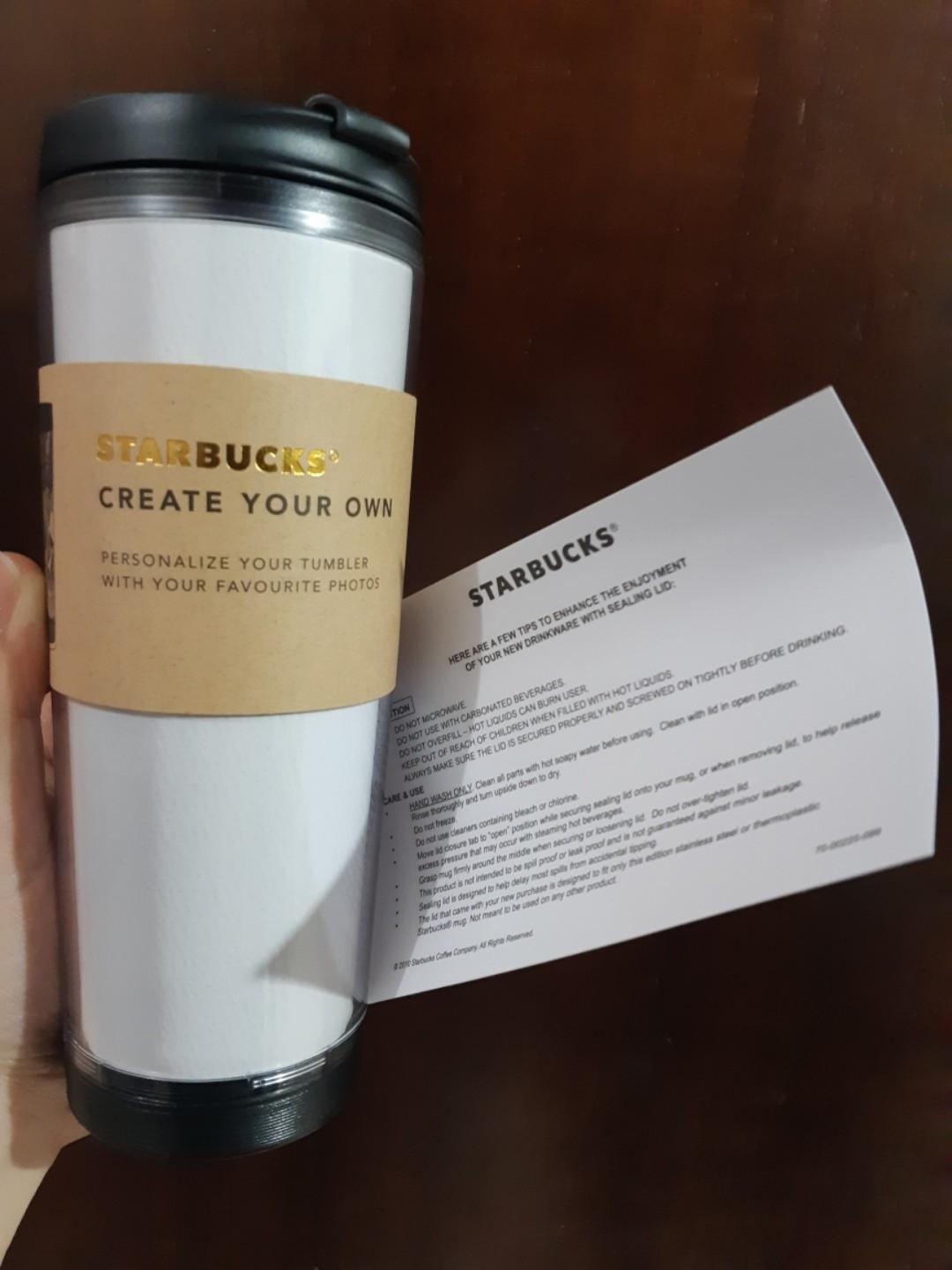 Starbucks Tumbler Creat Your Own 355 ml