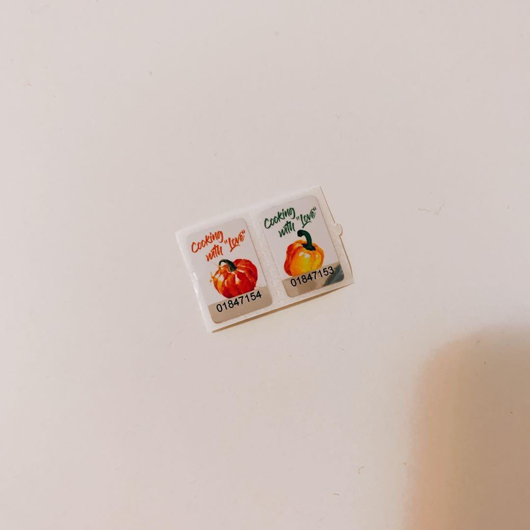 Three sixty stamps 2 pcs