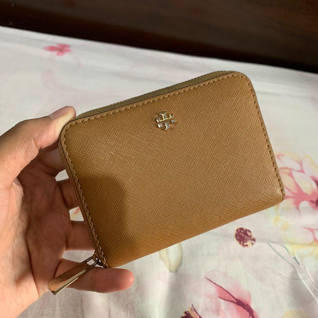 Tory Burch emerson zip mini wallet