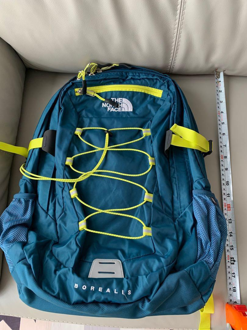 c832bc2ee Travel backpack haversack North Face Borealis man turquoise blue ...