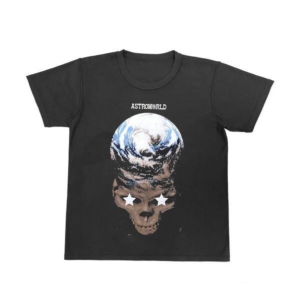 7b5206829100 🔥Travis Scott Astroworld Merch Reversible Tee, Men's Fashion, Clothes,  Tops on Carousell